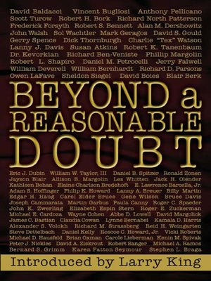 cover image of Beyond a Reasonable Doubt