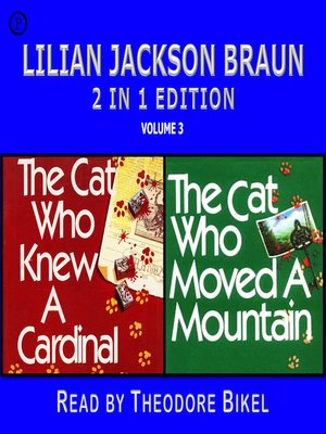 cover image of Lilian Jackson Braun 2-in-1 Edition, Volume 3