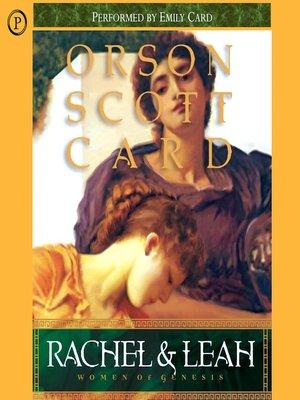 Women of genesisseries overdrive rakuten overdrive ebooks women of genesis series book 3 orson scott card author 2005 cover image of rachel leah fandeluxe Choice Image