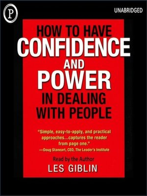 cover image of How to Have Confidence and Power When Dealing with People