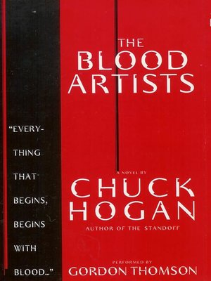 cover image of The Blood Artists