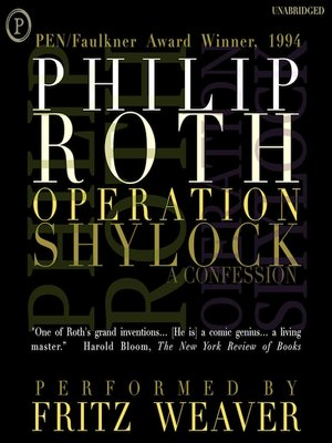 cover image of Operation Shylock