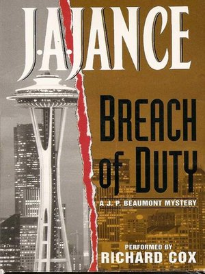 cover image of Breach of Duty