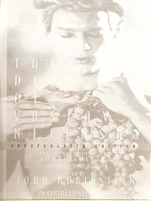 cover image of The Diary of Vaslav Nijinsky