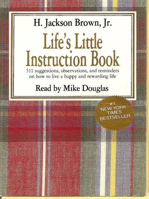 Lifes Little Instruction Book By H Jackson Brown Overdrive
