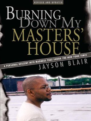 cover image of Burning Down My Master's House