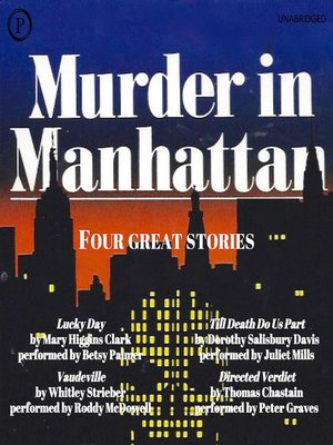 cover image of Murder in Manhattan
