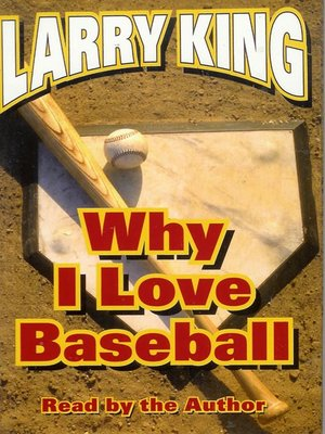 cover image of Why I Love Baseball