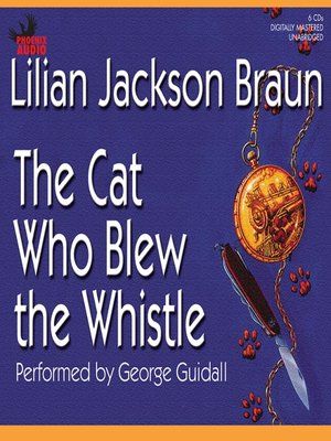 cover image of The Cat Who Blew the Whistle
