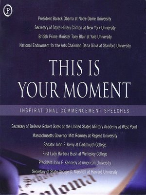 cover image of This is Your Moment