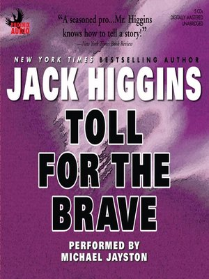 cover image of Toll for the Brave