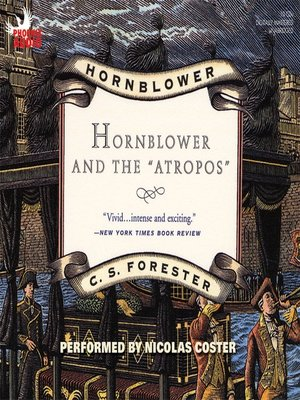 cover image of Hornblower and the Atropos