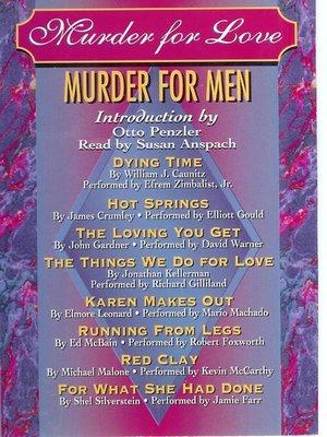 cover image of Murder for Love, Murder for Men