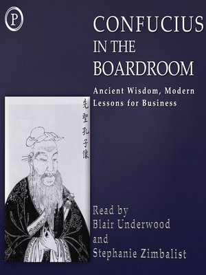 cover image of Confucius in the Boardroom