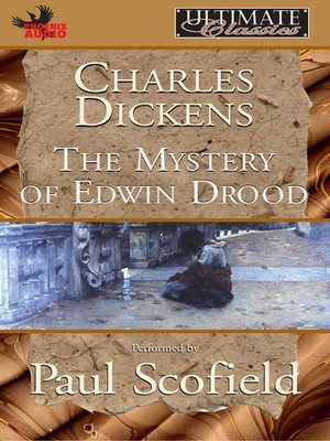 cover image of Mystery of Edwinn Drood
