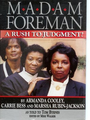 cover image of Madame Foreman