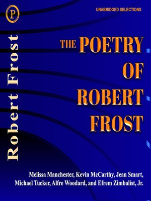 cover image of The Poetry of Robert Frost