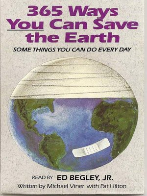cover image of 365 Ways You Can Save the Earth