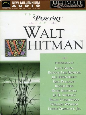 cover image of The Poetry of Walt Whitman