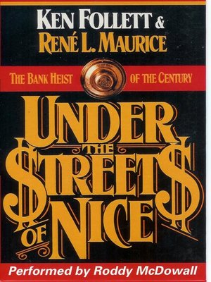 cover image of Under the Streets of Nice