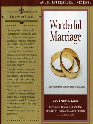 cover image of Wonderful Marriage