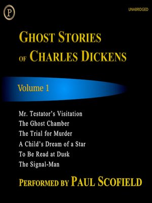 cover image of Ghost Stories of Charles Dickens