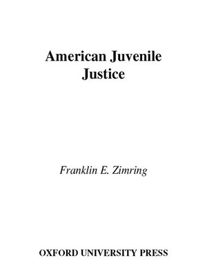 cover image of American Juvenile Justice