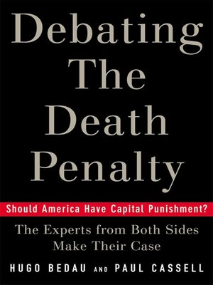 cover image of Debating the Death Penalty