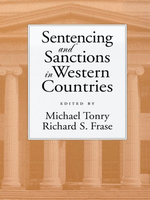 cover image of Sentencing and Sanctions in Western Countries
