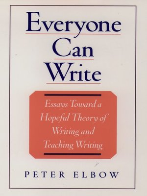 cover image of Everyone Can Write