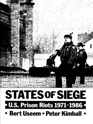 cover image of States of Siege
