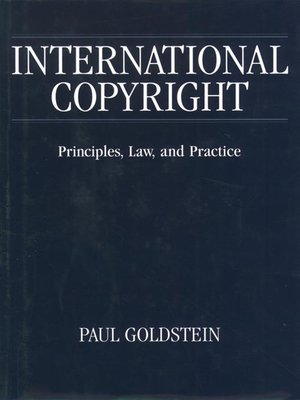 cover image of International Copyright