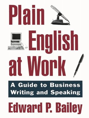 cover image of Plain English at Work