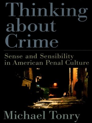 cover image of Thinking about Crime