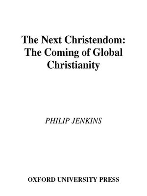 cover image of The Next Christendom