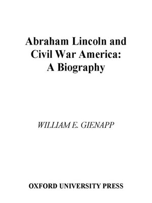 cover image of Abraham Lincoln and Civil War America