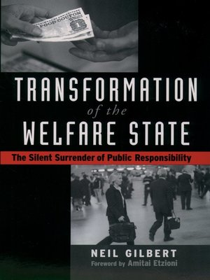 cover image of Transformation of the Welfare State