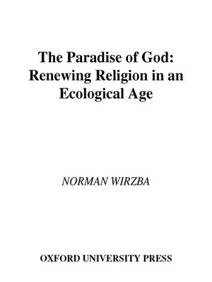 cover image of The Paradise of God