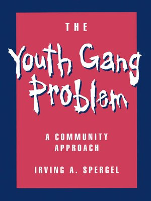 cover image of The Youth Gang Problem