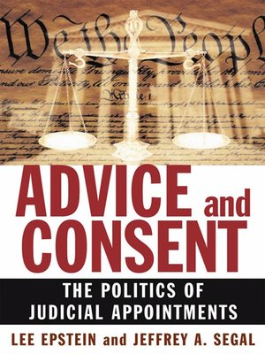 cover image of Advice and Consent