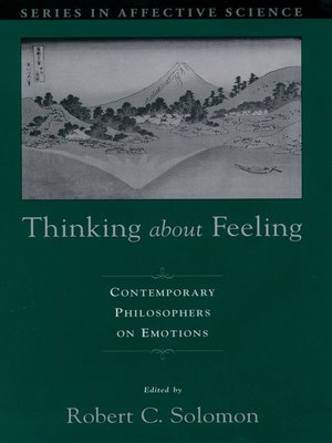 cover image of Thinking about Feeling