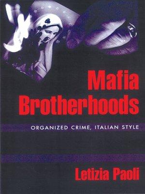 cover image of Mafia Brotherhoods