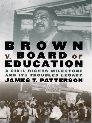 cover image of Brown v. Board of Education