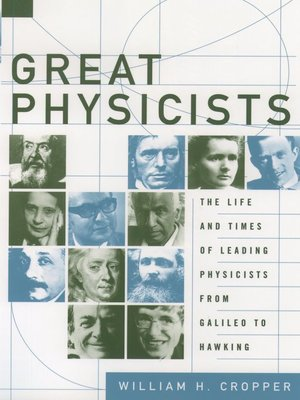 cover image of Great Physicists