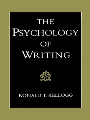 cover image of The Psychology of Writing
