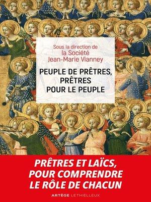cover image of Peuple de prêtres, prêtres pour le peuple