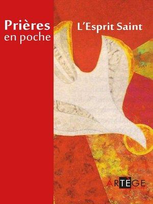 cover image of Prières en poche--L'Esprit Saint