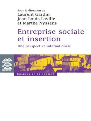 cover image of Entreprise sociale et insertion