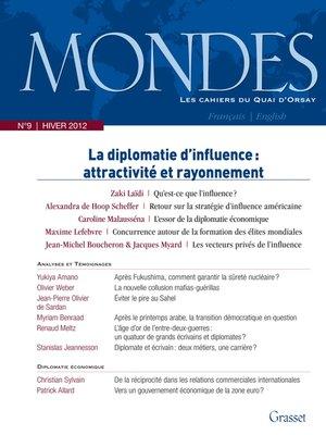 cover image of Mondes n°9 Les Cahiers du Quai d'Orsay