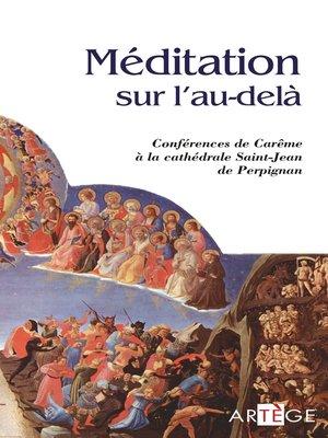 cover image of Méditation sur l'au-delà
